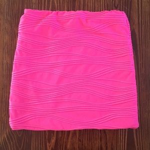 Hot Pink Bodycon Skirt S